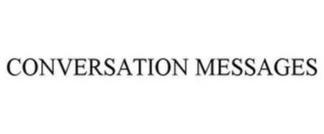 CONVERSATION MESSAGES