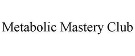 METABOLIC MASTERY CLUB