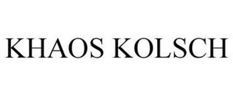 KHAOS KÖLSCH