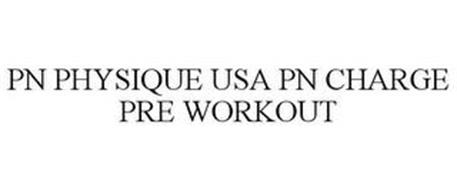 PN PHYSIQUE USA PN CHARGE PRE WORKOUT