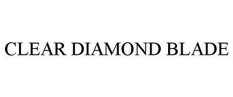 CLEAR DIAMOND BLADE