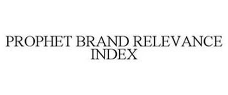 PROPHET BRAND RELEVANCE INDEX
