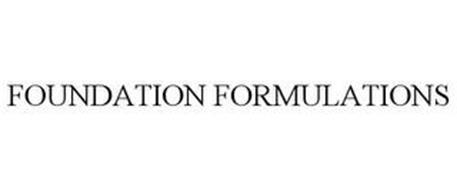 FOUNDATION FORMULATIONS