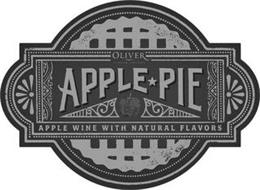 OLIVER WINERY & VINEYARDS APPLE PIE APPLE WINE WITH NATURAL FLAVORS