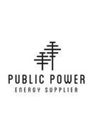 PUBLIC POWER ENERGY SUPPLIER