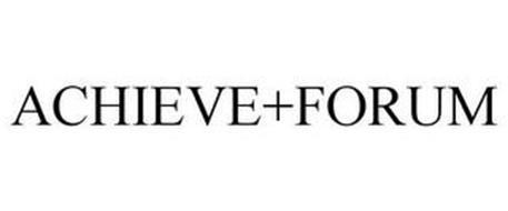 ACHIEVE+FORUM