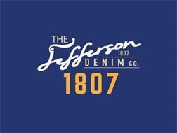 THE JEFFERSON DENIM CO. 1807