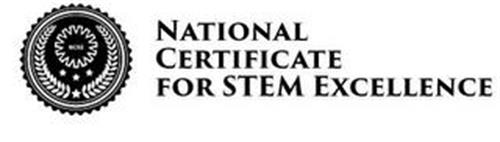 NCSE NATIONAL CERTIFICATE FOR STEM EXCELLENCE