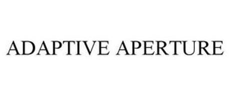 ADAPTIVE APERTURE