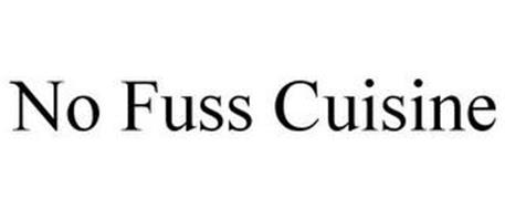 NO FUSS CUISINE