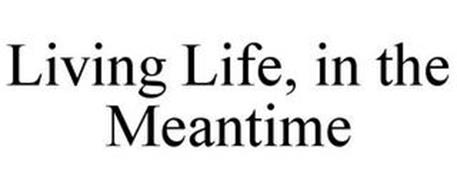 LIVING LIFE, IN THE MEANTIME