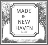 MADE IN NEW HAVEN EST. 1638