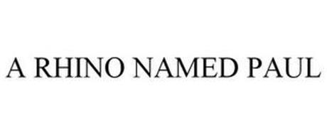 A RHINO NAMED PAUL