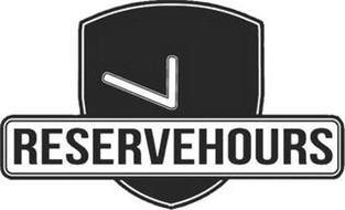 RESERVEHOURS