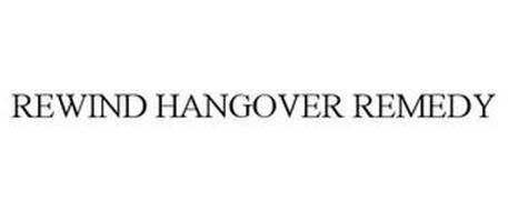 REWIND HANGOVER REMEDY