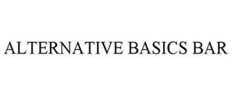 ALTERNATIVE BASICS BAR