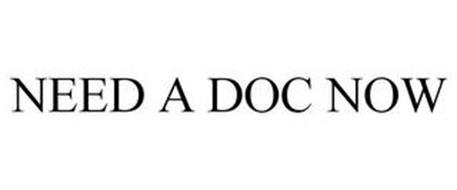 NEED A DOC NOW