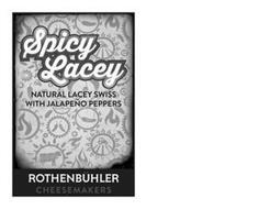 SPICY LACEY NATURAL LACEY SWISS WITH JALAPEÑO PEPPERS ROTHENBÜHLER CHEESEMAKERS