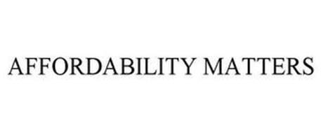 AFFORDABILITY MATTERS