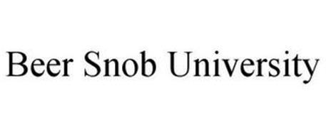 BEER SNOB UNIVERSITY