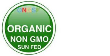 ONGSF ORGANIC NON GMO SUN FED