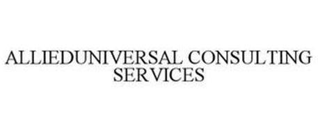 ALLIEDUNIVERSAL CONSULTING SERVICES