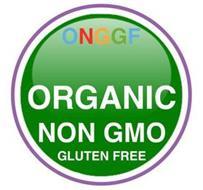 ONGGF ORGANIC NON GMO GLUTEN FREE