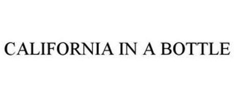 CALIFORNIA IN A BOTTLE