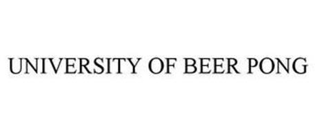 UNIVERSITY OF BEER PONG