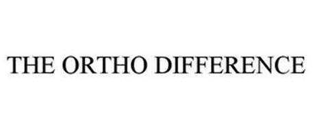 THE ORTHO DIFFERENCE