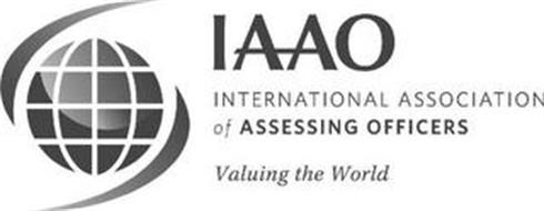 IAAO INTERNATIONAL ASSOCIATION OF ASSESSING OFFICERS VALUING THE WORLD
