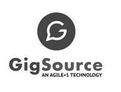 GIGSOURCE AN AGILE·1 TECHNOLOGY G