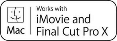 MAC WORKS WITH IMOVIE AND FINAL CUT PRO X