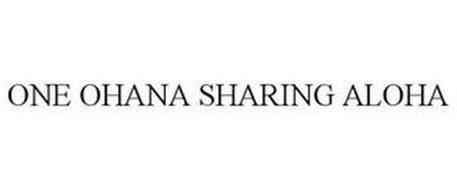 ONE OHANA SHARING ALOHA