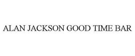 ALAN JACKSON GOOD TIME BAR