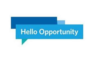 HELLO OPPORTUNITY