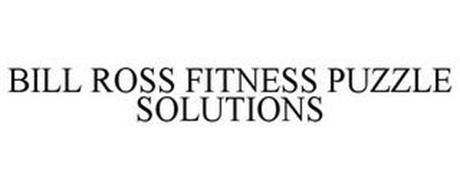 BILL ROSS FITNESS PUZZLE SOLUTIONS
