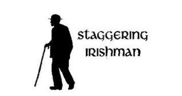 STAGGERING IRISHMAN