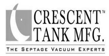 CRESCENT TANK MFG. THE SEPTAGE VACUUM EXPERTS