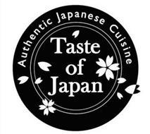TASTE OF JAPAN AUTHENTIC JAPANESE CUISINE