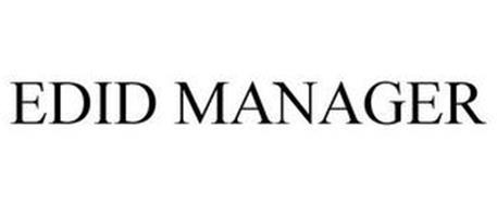 EDID MANAGER
