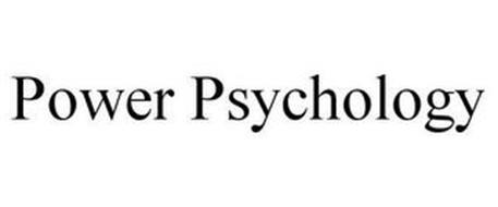 POWER PSYCHOLOGY