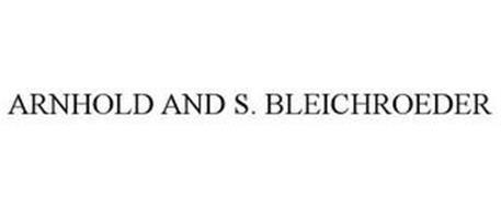 ARNHOLD AND S. BLEICHROEDER