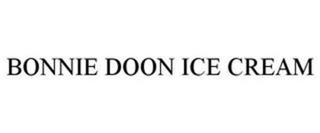 BONNIE DOON ICE CREAM