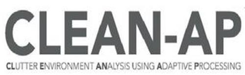 CLEAN-AP CLUTTER ENVIRONMENT ANALYSIS USING ADAPTIVE PROCESSING