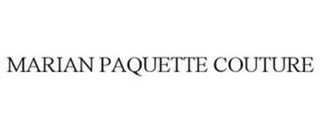 MARIAN PAQUETTE COUTURE