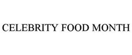CELEBRITY FOOD MONTH
