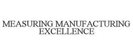 MEASURING MANUFACTURING EXCELLENCE