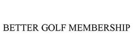 BETTER GOLF MEMBERSHIP