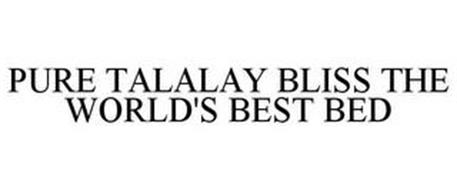 PURE TALALAY BLISS THE WORLD'S BEST BED